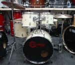 "PERCUSSION PLUS 20"" FUSION KIT   WHITE"